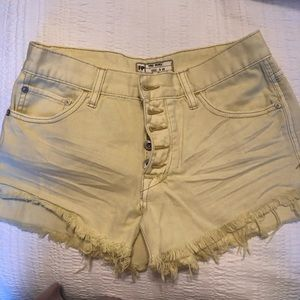 Free People Runaway Slouchy Shorts